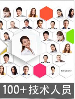 100+技术研发团队人员